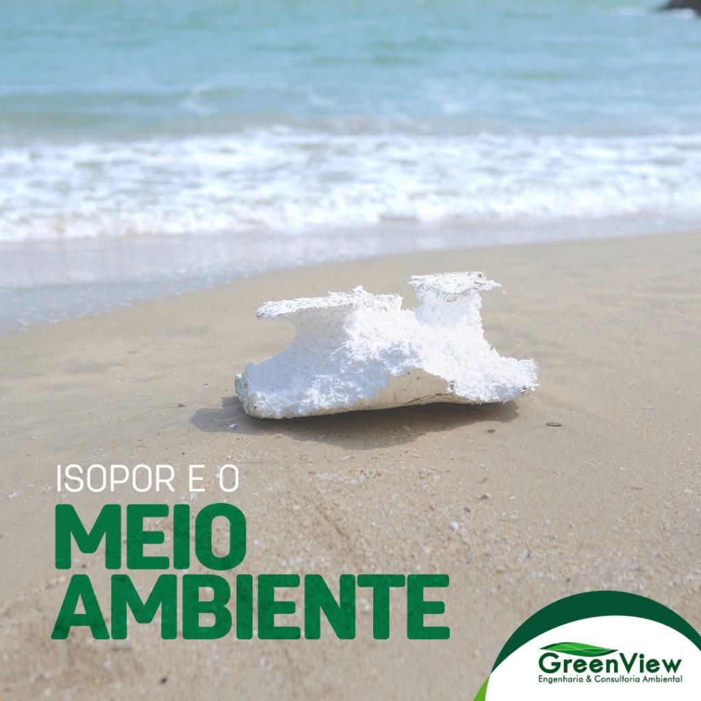 isopor e o meio ambiente