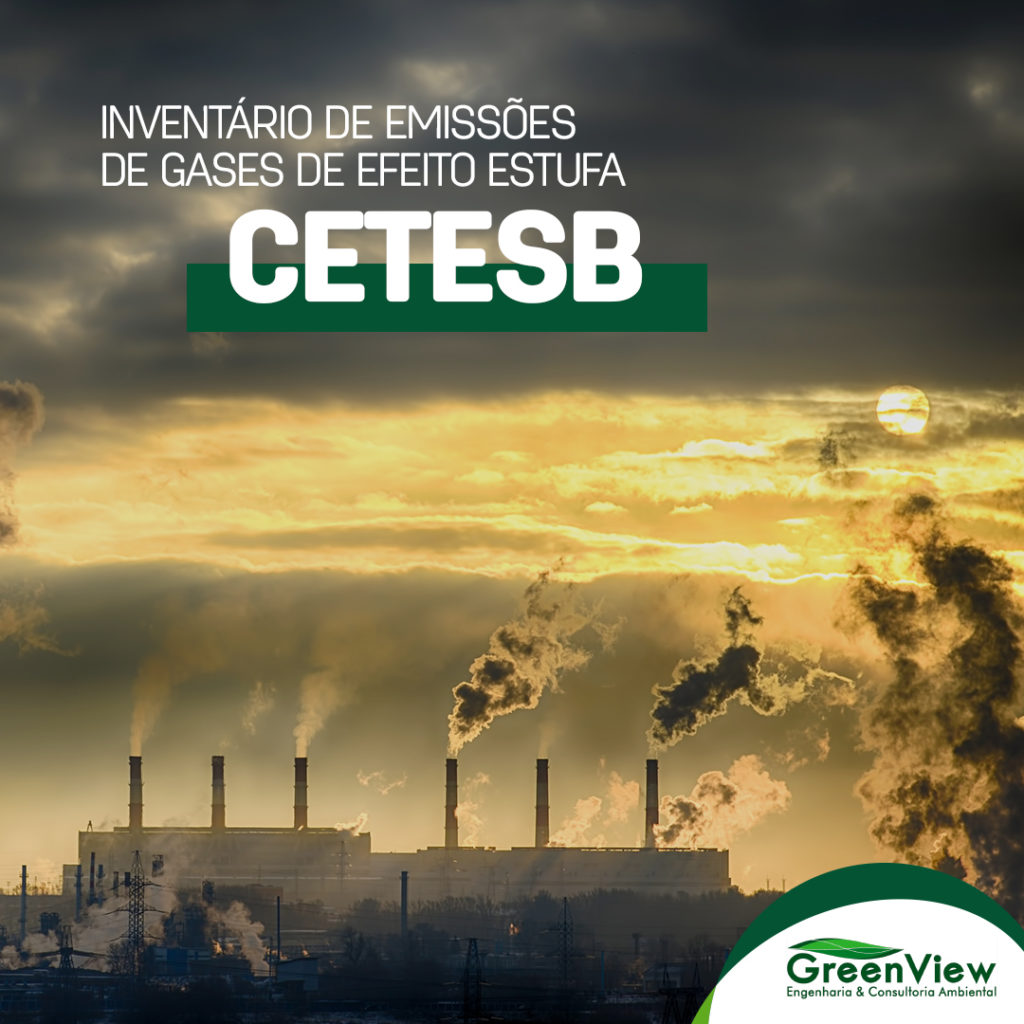 Inventário de Emissões de Gases de Efeito Estufa - CETESB.